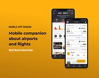 FLIO (Restruction) - Mobile App Design