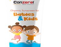 Conzerol Organic Sun Screen