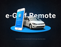 eGolf Remote