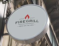 Firegrill - Restaurant Branding