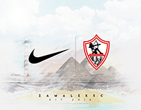 Zamalek Sc kit 2018-2019 ( un official )