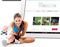 Spoco Sports web design