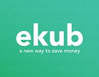 Ekub Landing Page Design