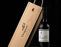 Damjanic wine product photography
