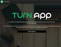 TurnApp Landing Page
