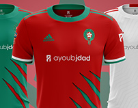 Proposition for Moroccan Kits in World Cup RUSSIA2018