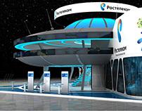 """Rostelecom"" booth"