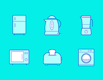 Kitchen Icons : Freebie