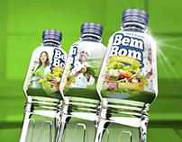 Vinagre BemBom - Projeto de embalagem e rótulo