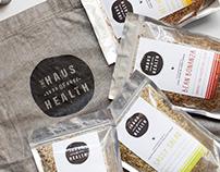The Haus Of Health Branding