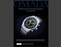 Free Magazine Ad For Watch PSD Template