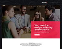 Pofo Creative WordPress Theme - Innovation Agency