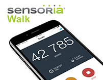 Sensoria Walk | Step Counter iOS App