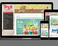 Strona internetowa / Website – Przedszkole 58 w Gdańsku