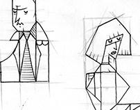 Blade Runner VIDEOGAME INTRO-Typo design