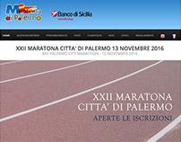 Maratona di Palermo (2013-2016) web design web master