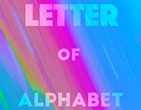 Letter Of Alphabet