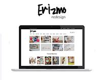 Erizmo Ecommerce Redesign