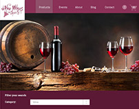 deVine Wines website