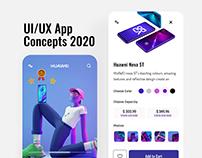 UI/UX Concepts 2020
