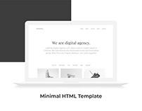 Minimal HTML5 Web Template [Free]
