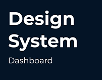 Design System - Dashboard