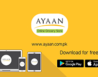 Ayan Online Grocery Store - Promotional Video