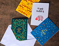 Greeting card collection_2017