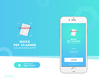 Quick PDF Scanner | Scan PDF documents | iOS Mobile App