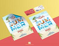 Free Business Card Flyer Mockup