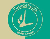 Pata de koala - Tarjeta de visita