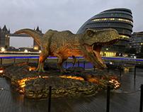 Jurassic Park promotion @ Wild Creations - Cardiff.