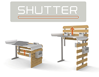 SHUTTER / Lifting desk