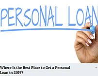 The Best Place to Get a Personal Loan in 2019