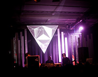 Liber Null Trinity - Stage design and Videomapping