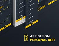 Sports App Design – Personal Best