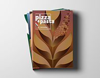 Pizza e Pasta Italiana - Cover illustration
