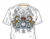 Nautica Ornate Graphic T-Shirts