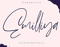 Free Emilliya Signature Font