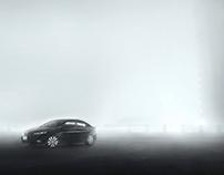 Foggy night / automotive photography