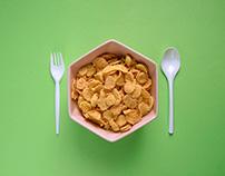 Plastic Tableware/ Food Design