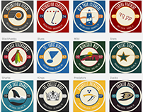 Vintage Hockey Icons