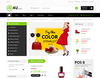 M4U Multi Store Responsive Shopify Theme