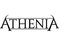 Athenia Band Logo Design