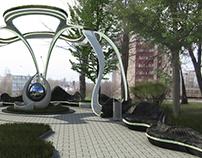 Le Corbusier park project