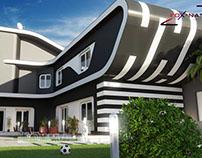 Villa Tlemcen: étude et réalisation: www.foxnas.com