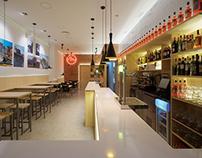 Restaurante Malandrino. Pura Arquitectura.