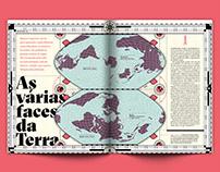 As várias faces da Terra (Superinteressante Magazine)