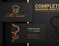 Design Business Logo and Complete Branding Identity
