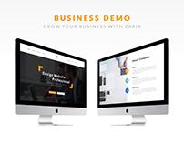 Zaria - A Beautiful & Smart Business WordPress Theme